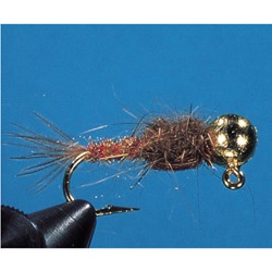 Picture of NYMPHEN QUICK SINK JIG BROWN