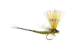 Image de TROCKENFLIEGE MOHICAN MAYFLY OLIVE BARBLESS
