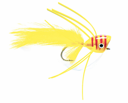 Imagen de STREAMER BASS POPPER YELLOW & RED