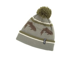 Imagen de SIMMS BIG HOLE POM HAT MÜTZE TIMBER