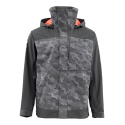 Picture of SIMMS CHALLENGER JACKET JACKE HEX CAMO CARBON