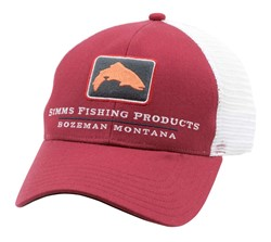 Imagen de SIMMS TROUT ICON TRUCKER RUSTY RED