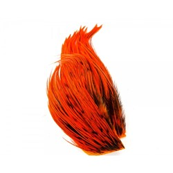 Bild von WHITING BUGGER PACK BADGER DYED ORANGE
