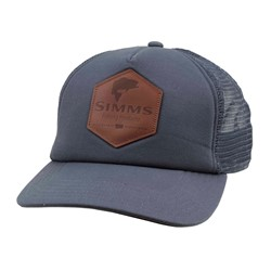 Bild von SIMMS LEATHER PATCH TRUCKER ADMIRAL BLUE