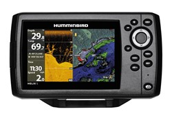 Bild von HUMMINBIRD ECHOLOT-GPS HELIX 5 DI, DOWN IMAGING & DUALBEAM PLUS