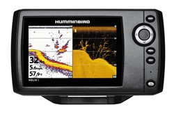 Bild von HUMMINBIRD ECHOLOT HELIX 5 DI, DOWN IMAGING & DUALBEAM PLUS