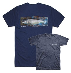 Bild von SIMMS DEYOUNG SEATROUT NAVY HEATHER T-SHIRT