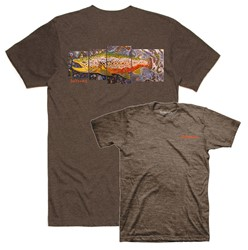 Bild von SIMMS DEYOUNG BROWN TROUT BROWN HEATHER T-SHIRT