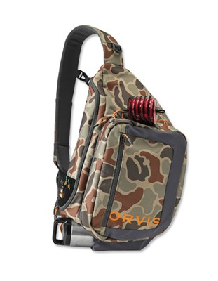 Image de ORVIS SAFE PASSAGE GUIDE SLING PACK BROWN CAMO