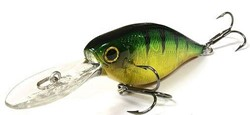Imagen de LUCKY CRAFT US SHAD 65 F AURORA GREEN PERCH