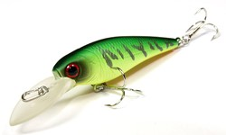 Imagen de LUCKY CRAFT BEVY SHAD 50 SP JAPAN MAT TIGER