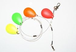 Bild von HB-LURES SPINNERKETTE INDIA FL/UV 4BL.
