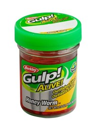 Image de BERKLEY GULP! ALIVE! HONEY WORM HOT YELLOW