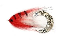 Image de STREAMER PAOLO'S WIGGLE TAIL WHITE & RED
