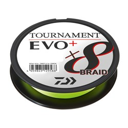 Bild von DAIWA TOURNAMENT X8 BRAID EVO 135m CHARTREUSE