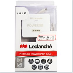 Image de LECLANCHÉ PORTABLE POWER BANK 5200