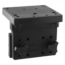 Immagine di SCOTTY RIGHT ANGLE SIDE GUNNEL MOUNT / BOOTSWAND MONTAGEPLATTE