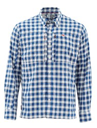 Picture of SIMMS BUGSTOPPER SHIRT ADMIRAL BLUE